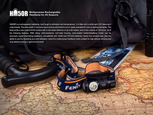 Fenix HM50R Headlamp