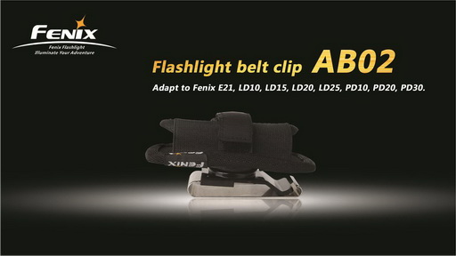 Fenix Flashlight Belt Clip AB02